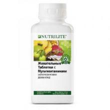 Жевательные таблетки с мультивитаминами