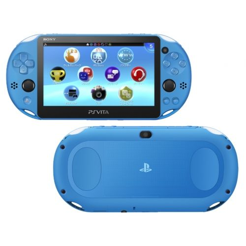 Игровая приставка Sony PS Vita slim WIFI PCH-2006 Aqua Blue