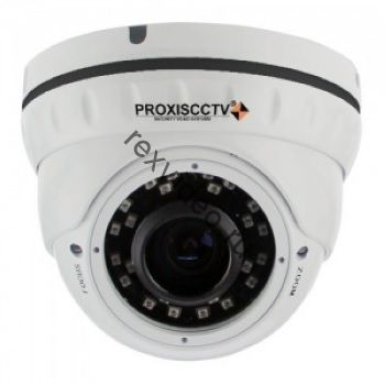 Антивандальная  IP (5Mp, f=2.8-12мм, POE, SD, аудио вх) (улица, помещение) видеокамера