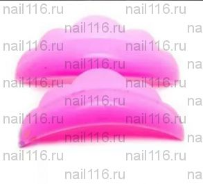 """Бигуди силиконовые - размер """"L розовый"""" (большой) - 1 пара"""