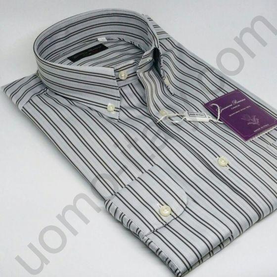 Мужская итальянская рубашка Giovanni Rosmini (новинка) арт. 444N.