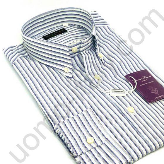 Мужская итальянская рубашка новинка 445N