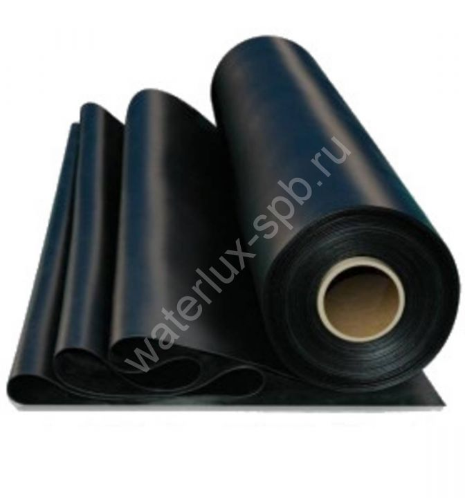Пленка каучуковая EPDM-Firestone Pond Gard 1,02 мм 12,20 х 30,50 м (на отрез)
