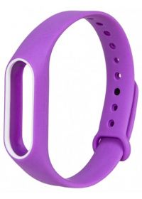 Ремешок для браслета Xiaomi Mi Band 3 фиолетовый