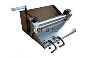 Тестораскаточная машина ручная (нержавейка ) ТРМ- 402РН