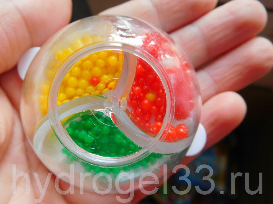 Маленькие шарики орбис 3 цвета