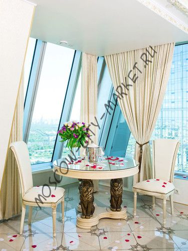 Апартаменты в Москва-Сити Люкс для новобрачных