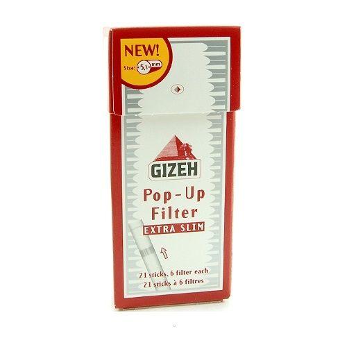 Фильтры сигаретные Gizeh Slim Extra 5,3мм 21