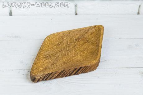 Деревянная тарелка для хачапури!. Необычная серия.  арт. 613