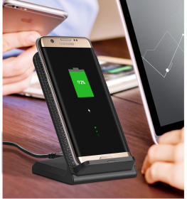 Быстрая беспроводная QI зарядка для телефона