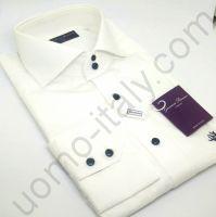 """(арт.2402) Рубашка на свадьбу белая с вышивкой """"черная роза"""""""