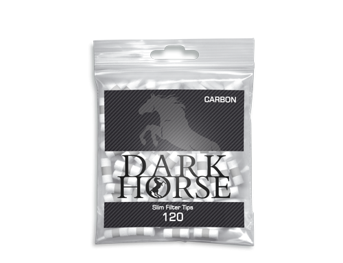 Фильтры сигаретные Dark Horse Carbon Triple Active 120