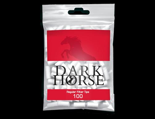 Фильтры сигаретные Dark Horse Long Filter Tips 7mm 100