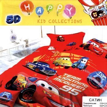 Комплект постельного белья 5Д№104