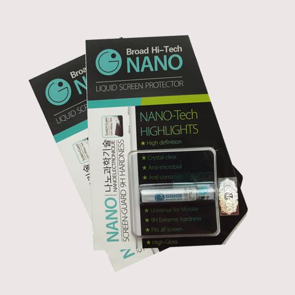 NANO жидкая защита экранов
