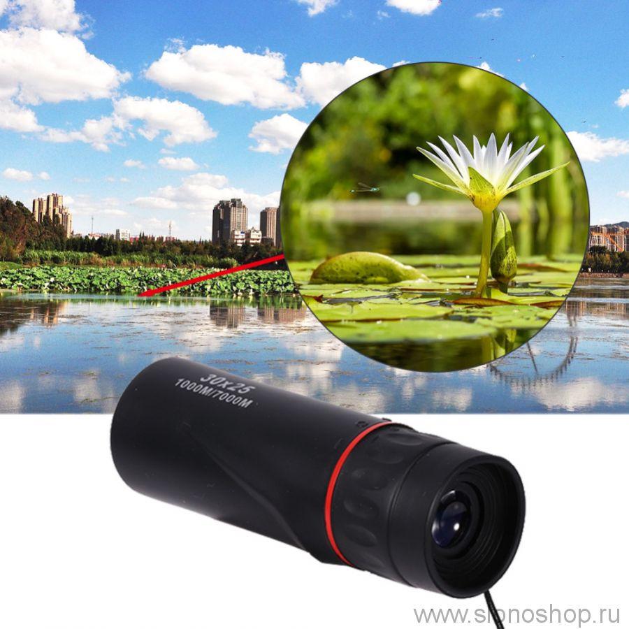 Монокуляр 30х25 HD сверхслабое освещение х10 для охоты и рыбалки