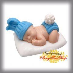 """Мыло """"Малыш на подушке"""""""