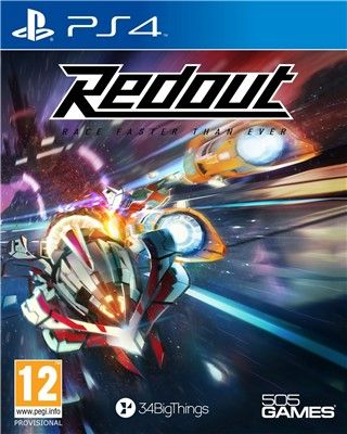 Игра Redout Race Faster Than Ever (PS4)
