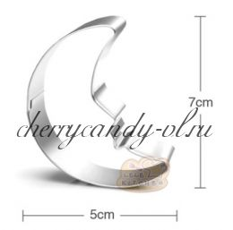 Форма металлическая Месяц