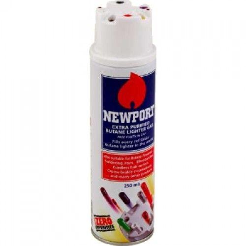 Газ для зажигалок  Newport 250 мл