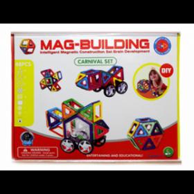 Магнитный конструктор MAG-BUILDING - 48 деталей!