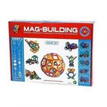 Магнитный конструктор MAG-BUILDING - 200 деталей!