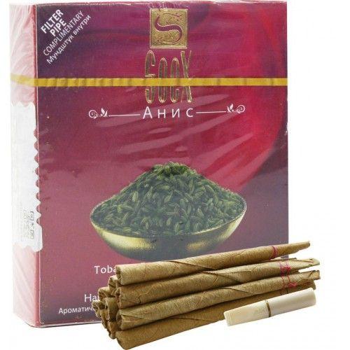Ароматические бестабачные сигареты биди Soex Anise