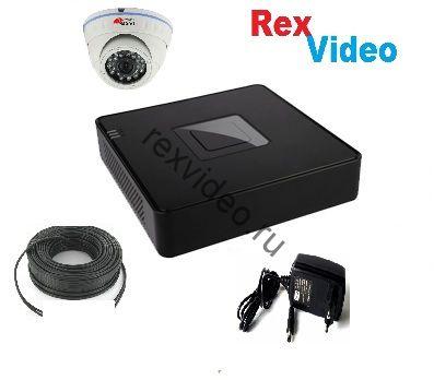 Комплект на 1 камеру IP HD-720p видеонаблюдения