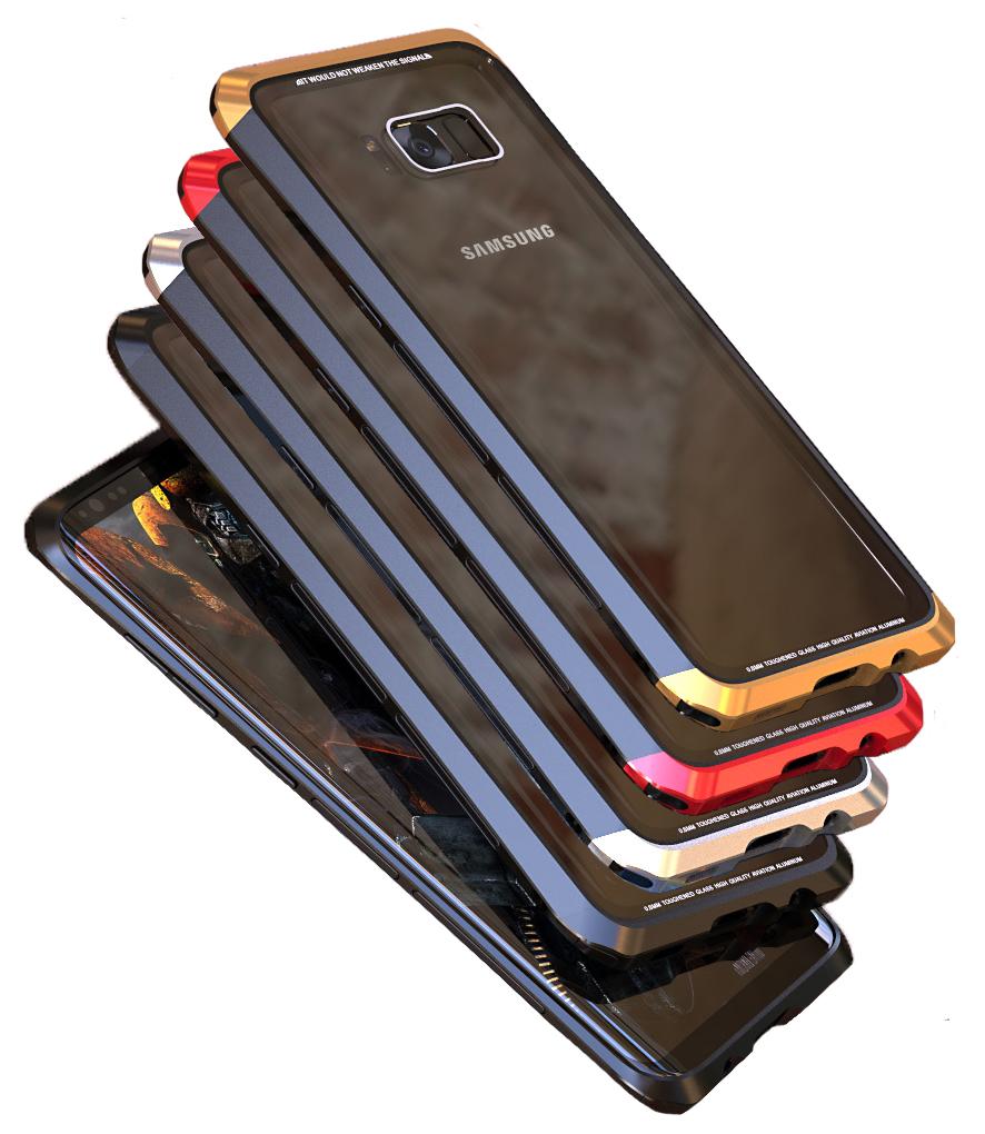 Чехол-накладка LUPHIE для Samsung S8 DOUBLE DRAGON