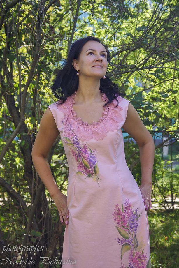 Платье Сиреневая нежность