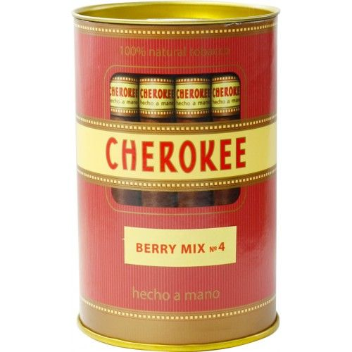 Сигариллы Cherokee Berry Mix №4 туба 35 шт.