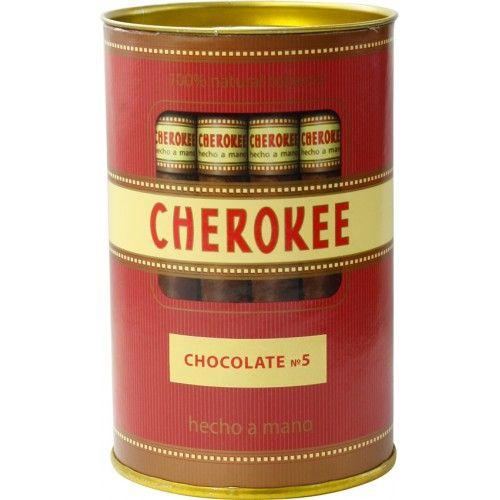 Сигариллы Cherokee Chocolate №5 туба 35 шт.