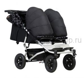 Duet  (Дует), Детская коляска для новорожденной двойни Mountain Buggy Duet с коконами (Маунтин Багги Дуэт)