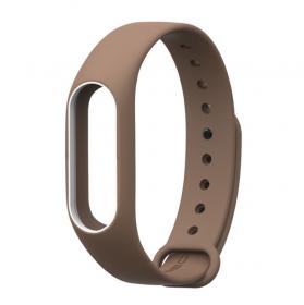 Ремешок для браслета Xiaomi Mi Band 3 коричневый