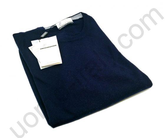 Джемпер темно синий с груглым вырезом.(последний размер 48)