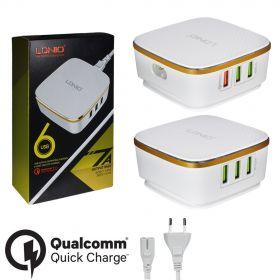 Зарядное устройство на 6 USB портов (7А) Quick Charge 2.0