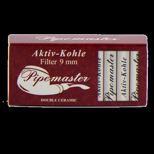 Трубочные фильтры Pipemaster 9 мм угольные 30 штук