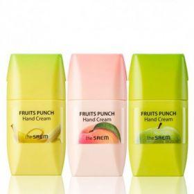 The Saem Fruits Punch Hand Cream 50ml - крем для рук - фруктовый пунш