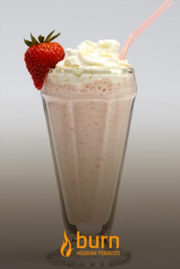 Табак Burn - Milkshake (Молочный коктейль с клубникой и бананом) 100 гр