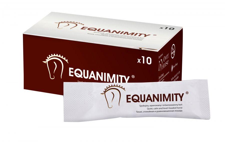 Экванимити (Equanimity) Успокаивающий гель. Новое решение проблем поведения 10 г Over-horse