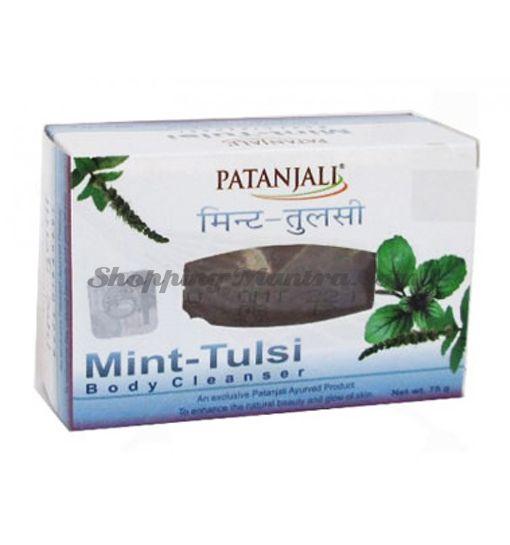 Мыло для лица и тела Мята&Тулси Патанджали Аюрведа | Divya Patanjali Ojas Mint Tulsi Soap