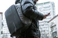 Антивандальный рюкзак с USB-портом!
