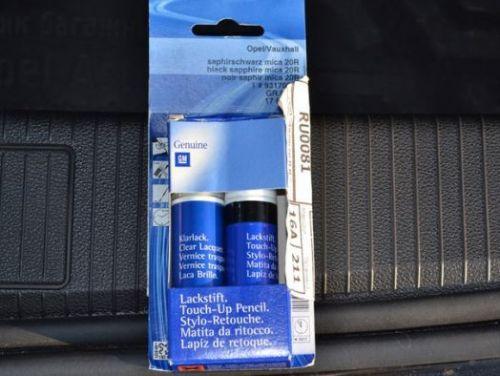 Лаковый карандаш для подкраски сколов GM (Touch-Up Pen) (комплект)