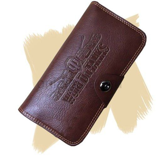 Мужское портмоне с логотипом WORD OF TANKS (МИР ТАНКОВ)