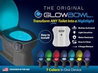 Подсветка для унитаза с датчиком движения GLOWBOWL