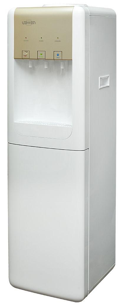 Кулер для воды VATTEN V17WKB gold с холодильником