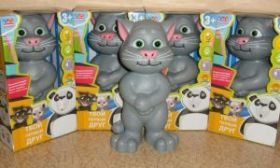 Интерактивный говорящий Кот Том
