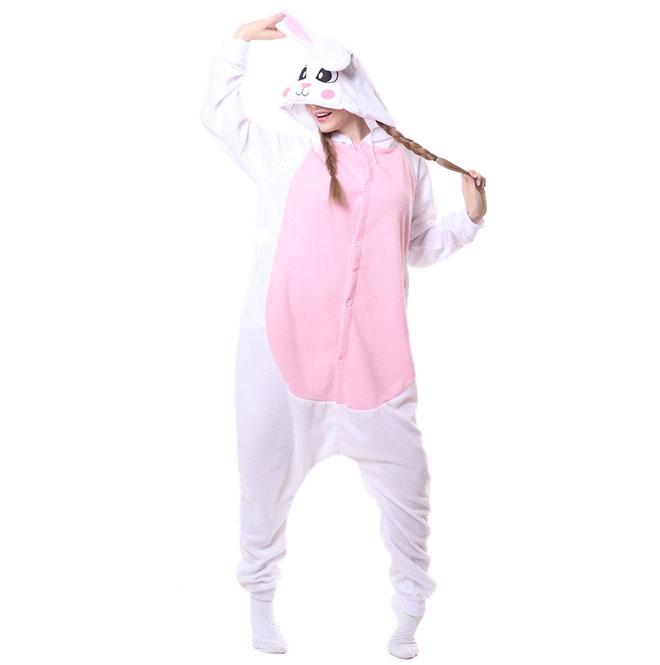 cb0683a11138 Пижама Кигуруми Кролик Розовый