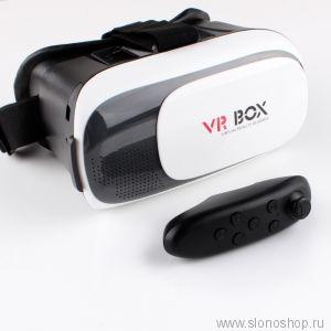 Очки VR виртуальной реальности с джостиком 3D очки VR-Box