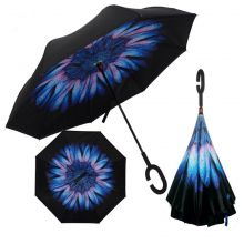 Умный зонт- Цвет-Роса на цветке